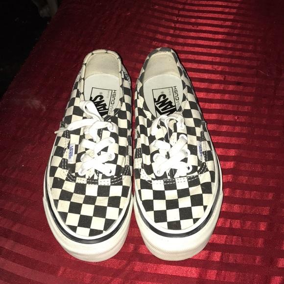 800690d6377 Checkered vans ultra Cush 44 Anaheim factory. M 5b5031d9bb76159fc6e617f6